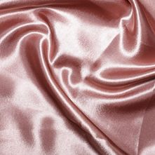 Dusky Pink Satin High Sheen Fabric 0.5m